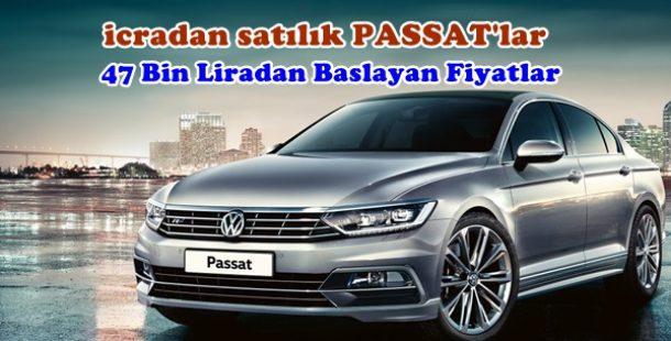 İcradan Satılık Hacizli Volkswagen Passat Araçlar