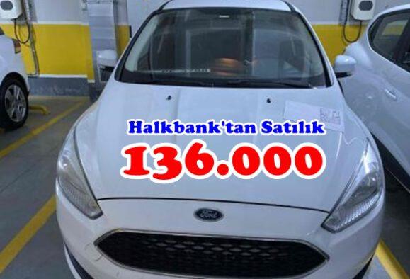 Halkbank'tan Satılık Ford Focus Dizel Otomatik