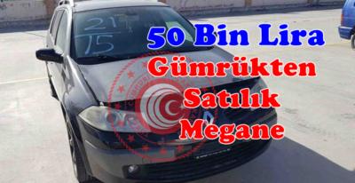 Gümrükten Satılık 2006 Renault Megane 50 Bin lira