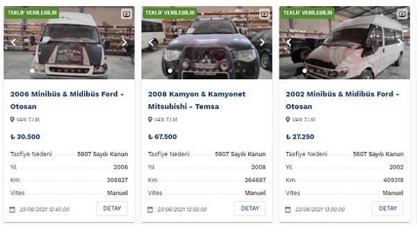 Gümrükten Satılık Araçlar Uygun Fiyatlara Sunuluyor