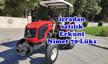 İcradan Satılık Hacizli Erkunt 4*4 Traktör