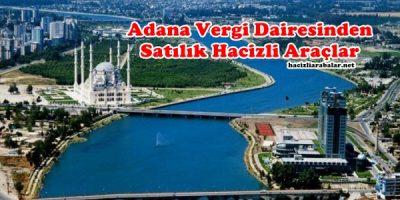Adana Vergi Dairesinden Satılık Hacizli Araçlar