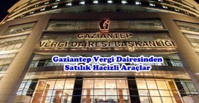 Gaziantep Vergi Dairesinden Satılık Hacizli Araçlar