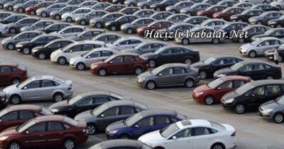 Hacizli Araçlar Satımı ile İlgili Kanun