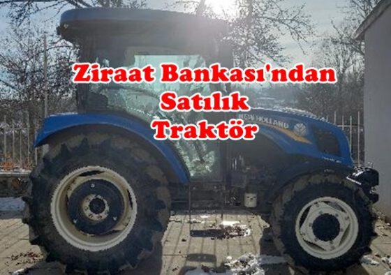 Ziraat Bankasından Satılık New Holland Traktör