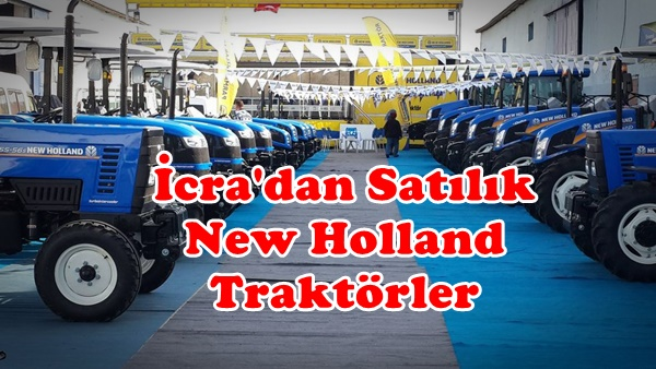 İcradan Satılık New Holland Traktörler